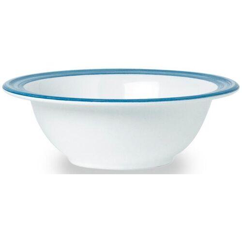 WACA Müslischale »Bistro«, Melamin, (4-tlg), (4 Stück), 16,5 cm, blau
