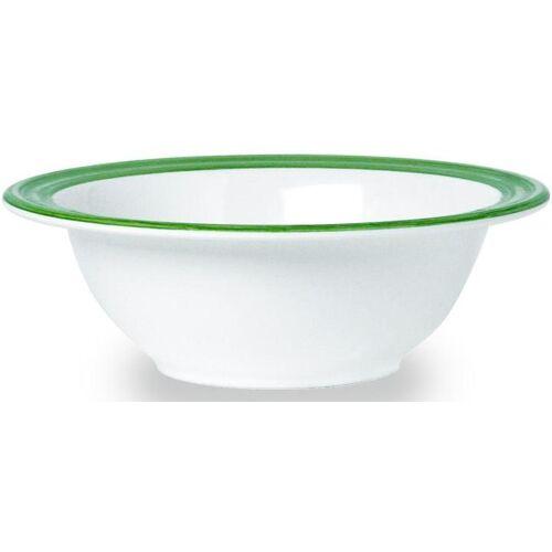 WACA Müslischale »Bistro«, Melamin, (4-tlg), (4 Stück), 16,5 cm, grün