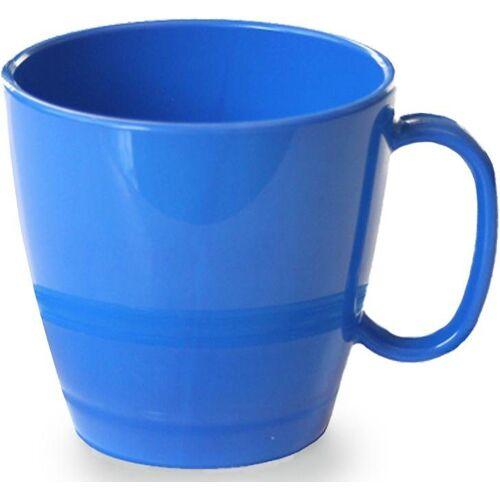 WACA Tasse (4-tlg), Kunststoff, 230 ml, blau