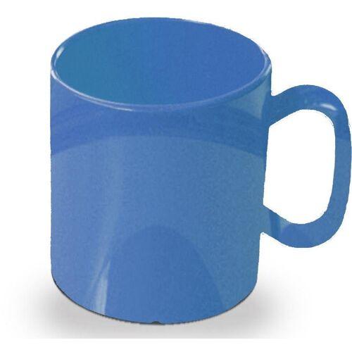 WACA Becher (4-tlg), 325 ml, Kunststoff, blau