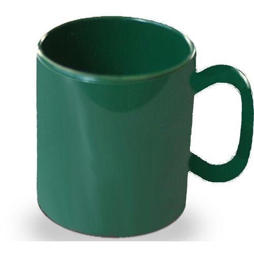 WACA Becher (4-tlg), 325 ml, Kunststoff, grün