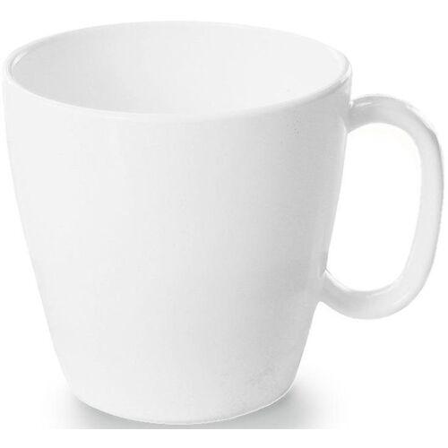 WACA Tasse (4-tlg), Kunststoff, 230 ml, weiß
