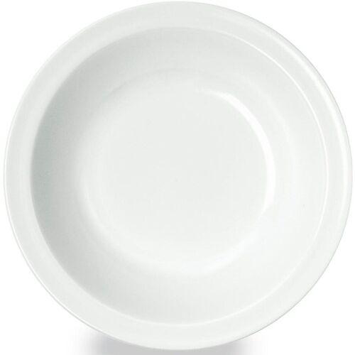WACA Suppenteller, (4 Stück), Melamin, weiß