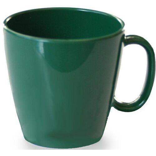 WACA Tasse (4-tlg), Kunststoff, 230 ml, grün