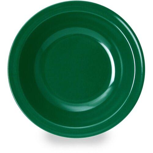 WACA Suppenteller, (4 Stück), Melamin, grün