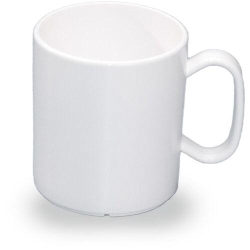 WACA Becher (4-tlg), 325 ml, Kunststoff, weiß