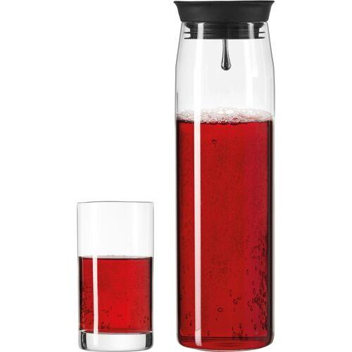 LEONARDO Gläser-Set »Brioso« (3-tlg), 1 Karaffe, 2 Longdrinkgläser