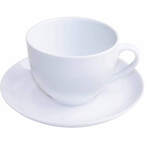 nurso Tasse »Mona« (12-tlg), Porzellan, (6 Tassen, 6 Untertassen)