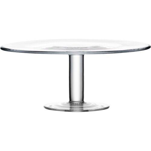 Eisch Tortenplatte, Glas, Kristall, Ø 31 cm