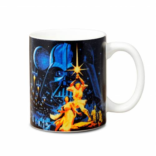 LOGOSHIRT Tasse mit coolem Print »Star Wars - May the Force Be With You«, farbig