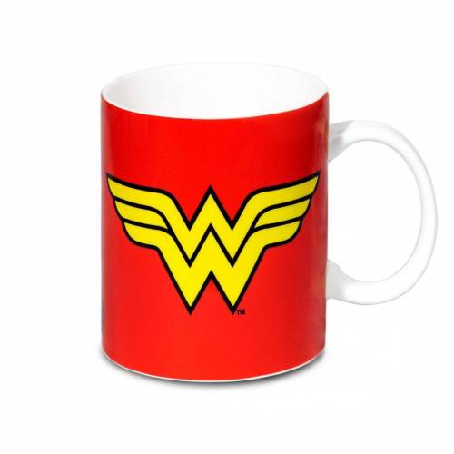 LOGOSHIRT Tasse in coolen Design »Wonder Woman«, rot