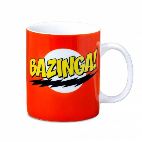 LOGOSHIRT Tasse mit lustigem Print »TBBT - The Big Bang Theory - Bazinga«, rot