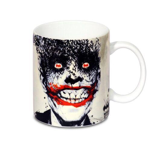 LOGOSHIRT Tasse mit tollem Print »DC Comics - Batman - Joker Bats«, weiss