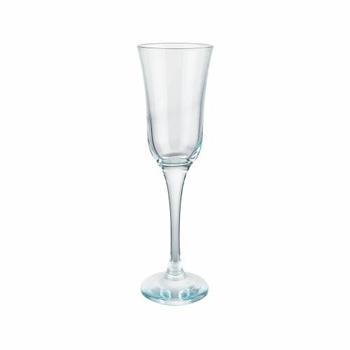 BUTLERS Champagnerglas »SHEER BLUE 6x Champagnerflöte 190ml«