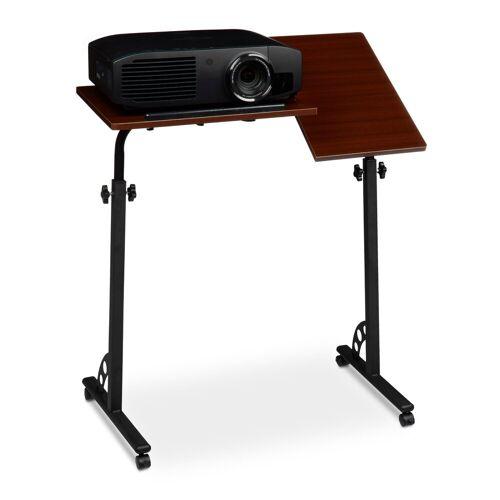 relaxdays Laptoptisch »Laptoptisch groß höhenverstellbar«, Rot