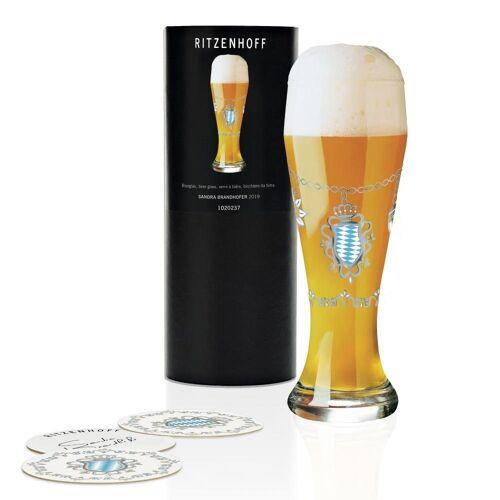 Ritzenhoff Bierglas »Weizen Sandra Brandhofer 645 ml«, Kristallglas