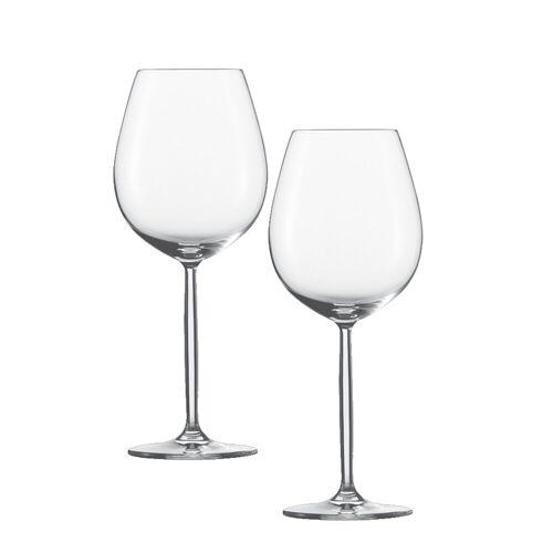 SCHOTT-ZWIESEL Rotweinglas »Wasser, Rotweinglas 2er-Set Diva«