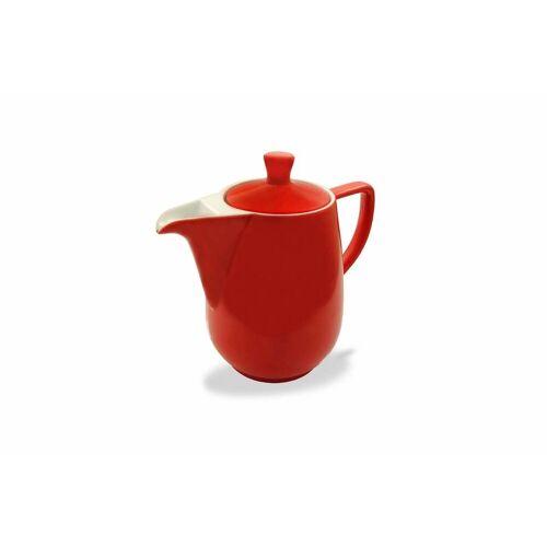 Friesland Porzellan Kaffeekanne »Friesland Kaffeekanne 0,35l Rot Porzellan«, 0,35 l