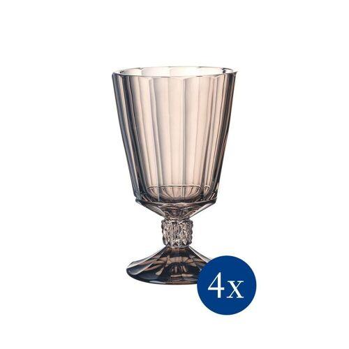 Villeroy & Boch Glas »Opéra Smoke Wasserkelch 4er Set« (4-tlg), Glas