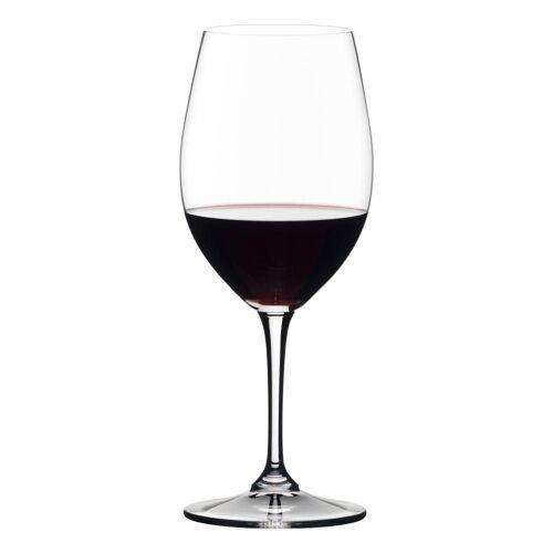 RIEDEL Glas Gläser-Set »Vivant Red Wine 4er Set«, Kristallglas