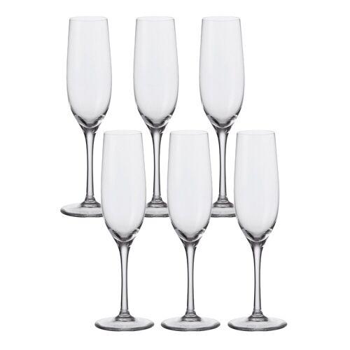 LEONARDO Sektglas »Sekt-Glas 6er-Set Ciao+« (6-tlg), Glas