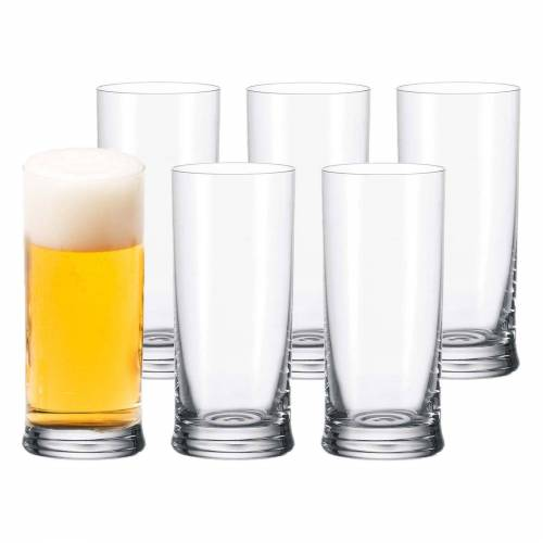LEONARDO Bierglas »K18 Bierglas 0,3l 6-tlg.« (6-tlg), Glas