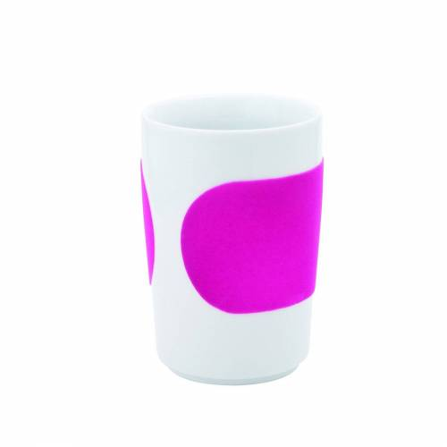 Kahla Becher »Maxi-Becher Five Senses Touch«, Magenta