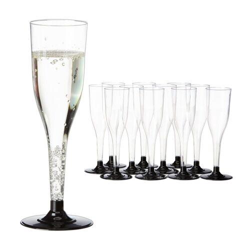 relaxdays Sektglas »Mehrweg Sektgläser 12er Set«