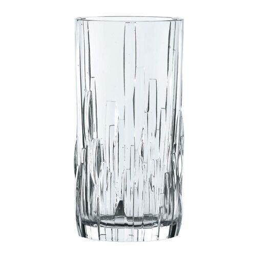 Nachtmann Gläser-Set »Shu Fu Longdrinkglas 4er Set 360 ml«, Kristallglas
