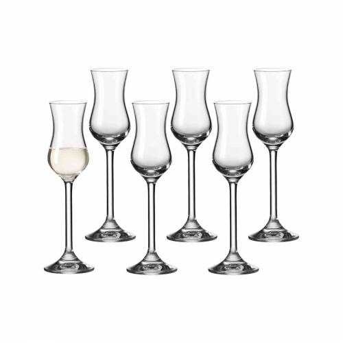 LEONARDO Schnapsglas »DAILY Grappaglas 30ml 6er Set« (6-tlg)