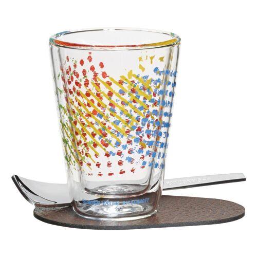 Ritzenhoff Espressoglas »A Cuppa Day Farbtupfer Ulrike Vater 80 ml«