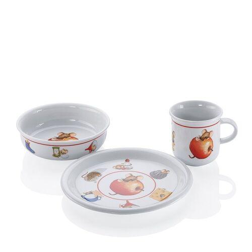 ARZBERG Teekanne »Kindergeschirrset Kinderset 3 teilig Küche«