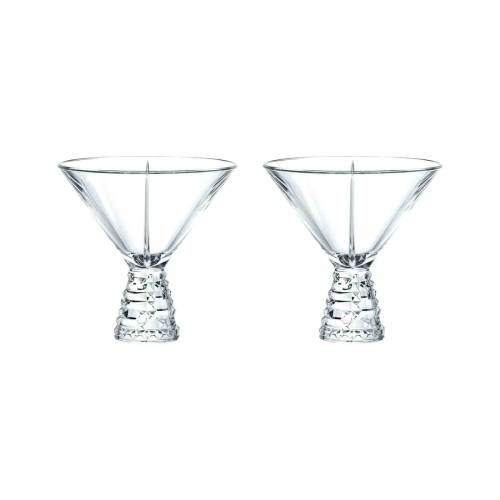 Nachtmann Cocktailglas »Punkt Cocktailgläser 2-tlg.« (2-tlg), Glas