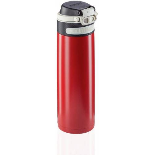 Leifheit Thermoflasche »Flip«, 600 ml, rot