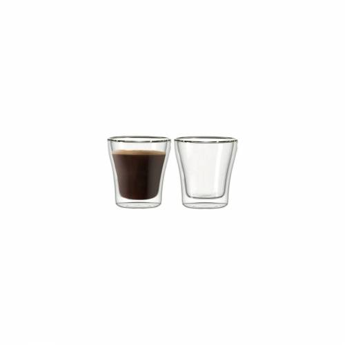 LEONARDO Thermoglas »DUO Thermoglas 40 ml 2er Set« (2-tlg), Glas