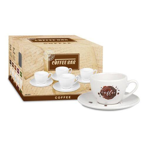Könitz Tasse »Coffee Bar No 8a 4er Set Coffee Spot«