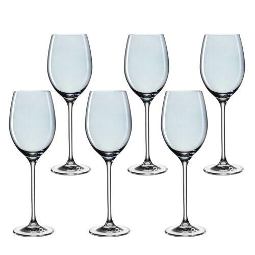 LEONARDO Weinglas »LUCENTE Universalweinglas blau 6er Set« (6-tlg)