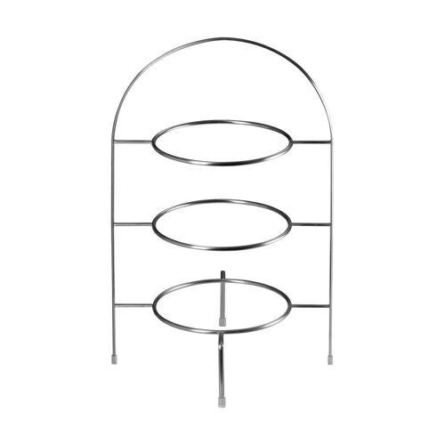 ASA SELECTION Etagere »à table Etagere Gestell 3stufig Ø 21 cm«, Edelstahl