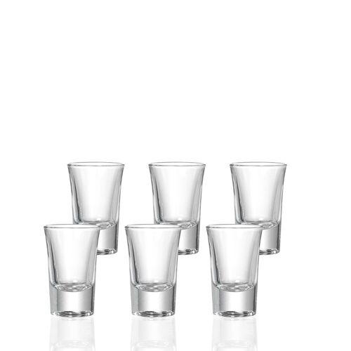Ritzenhoff & Breker Schnapsglas »4ALL Schnaps Stamper 34 ml 6er Set« (6-tlg)