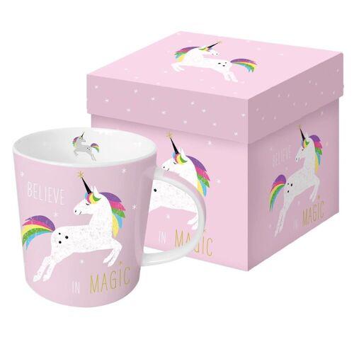PPD Becher »PINK UNICORN / Einhorn Tasse Kaffeebecher / tolle Geschenkidee mit Geschenkkarton«