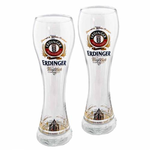 Ritzenhoff & Breker Bierglas »ERDINGER Weißbierglas 0,5l 2er Set« (2-tlg), Glas