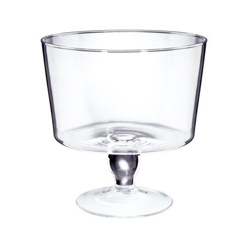 BUTLERS Schale »COUPE Glasschale mit Fuß Ø 25 cm«, Glas