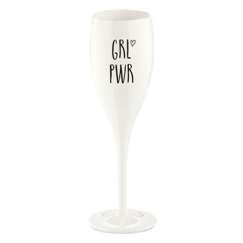KOZIOL Sektglas »Cheers No. 1 Grl Pwr«