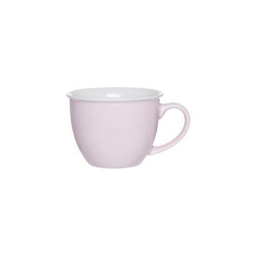 Ritzenhoff & Breker Tasse »DOPPIO Jumbotasse 350 ml rosé« (1-tlg)