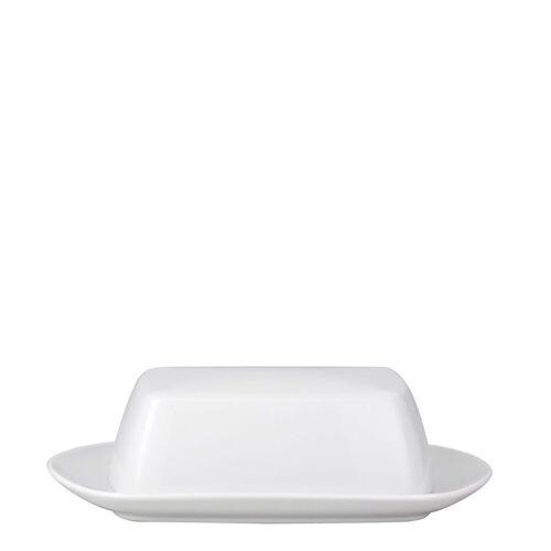 Rosenthal Butterdose »TAC Gropius Weiß Butterdose für 250 g«, Porzellan, (2-tlg)