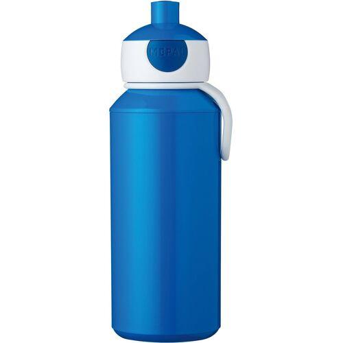 Rosti Mepal Trinkflasche »Trinkflasche pop-up campus lime, 400 ml«, blau