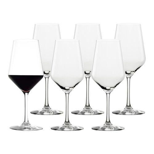 Stölzle Rotweinglas »REVOLUTION Rotweinkelch 490 ml 6er Set« (6-tlg), Glas