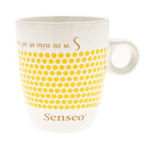 Senseo Becher »Kaffeebecher mit Henkel, weiß - gelb, 160 ml«