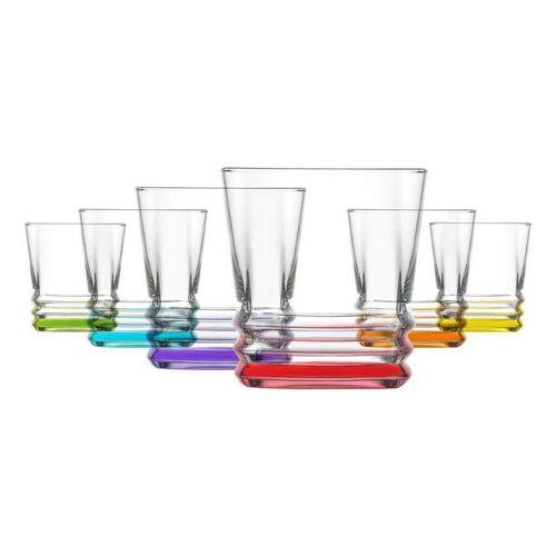 LAV Gläser-Set »Whiskygläser Trinkgläser saftgläser 6er Set« (6-tlg)