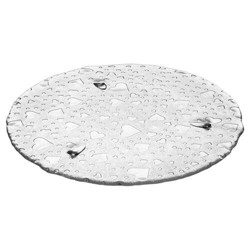 LEONARDO Tortenplatte »Heart 34 cm«, Glas